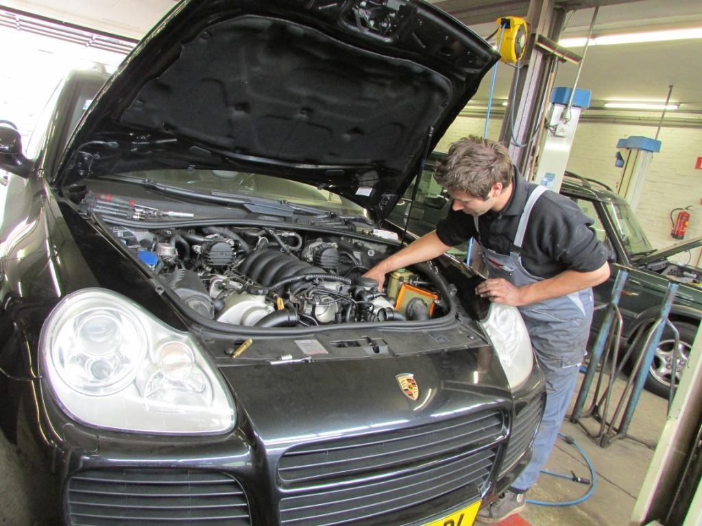 Porsche diagnose motor