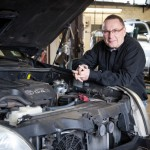 Hans Saris bij Toyota Landcruiser