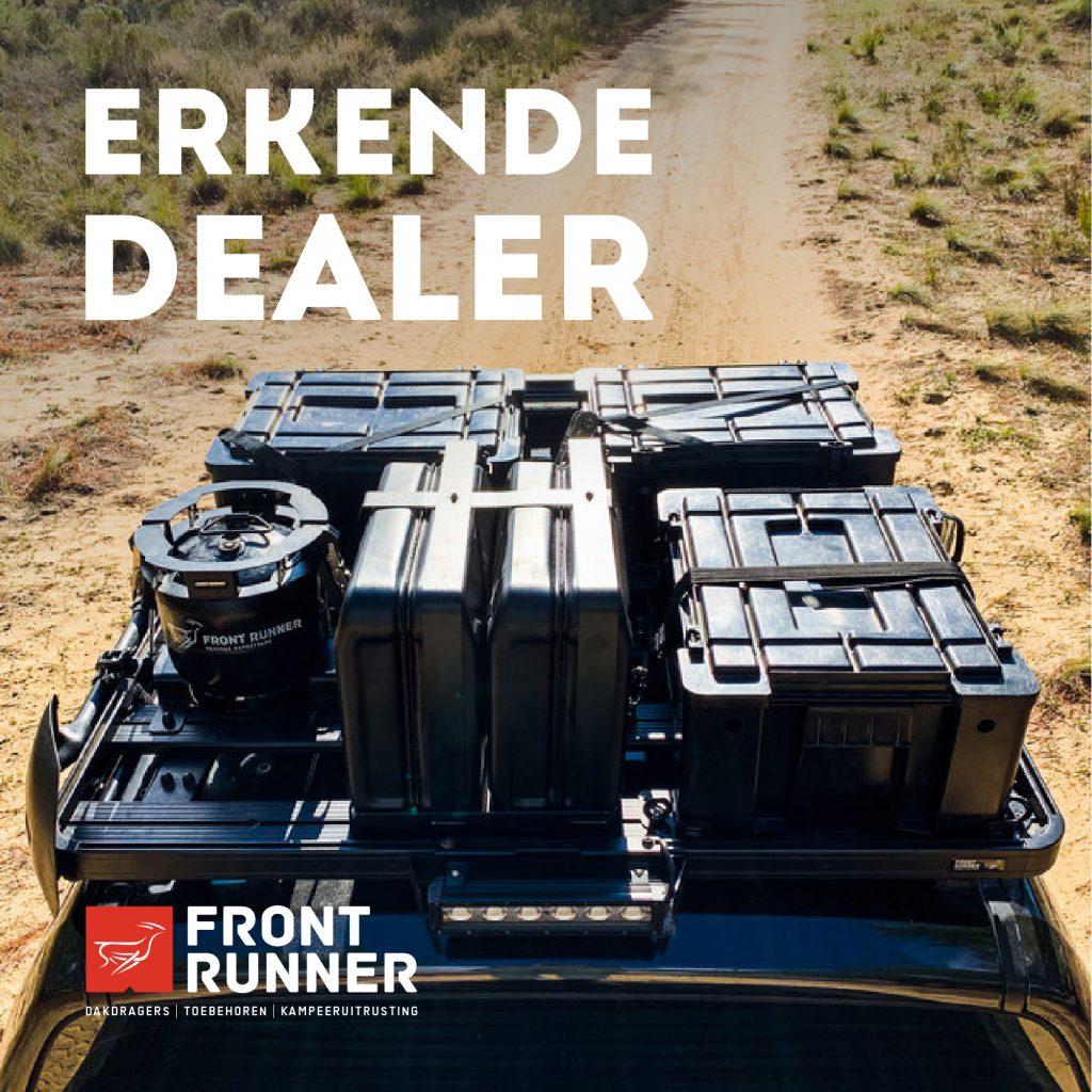 Frontrunner dealer roofrack wolf pack daktent jerrycan luifel