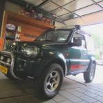Suzuki Jimny verhoging 2 inch