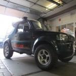 Suzuki Jimny 50 mm veerpakket verhoging verhogen lift kit maxxis modderbanden