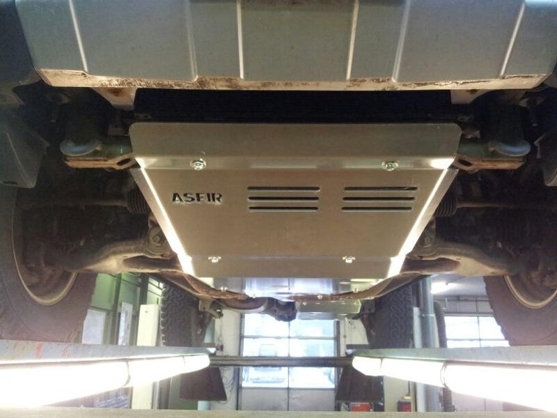Bodembescherming FJ Cruiser aluminium