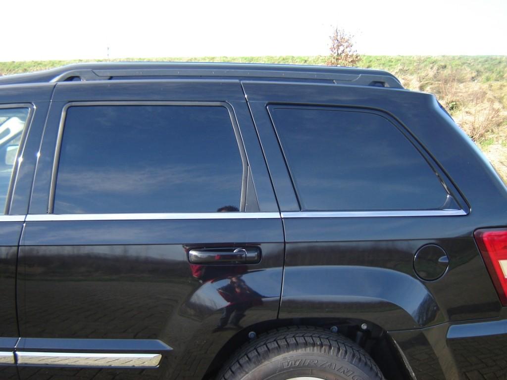 Jeep Grand Cherokee grijs kenteken