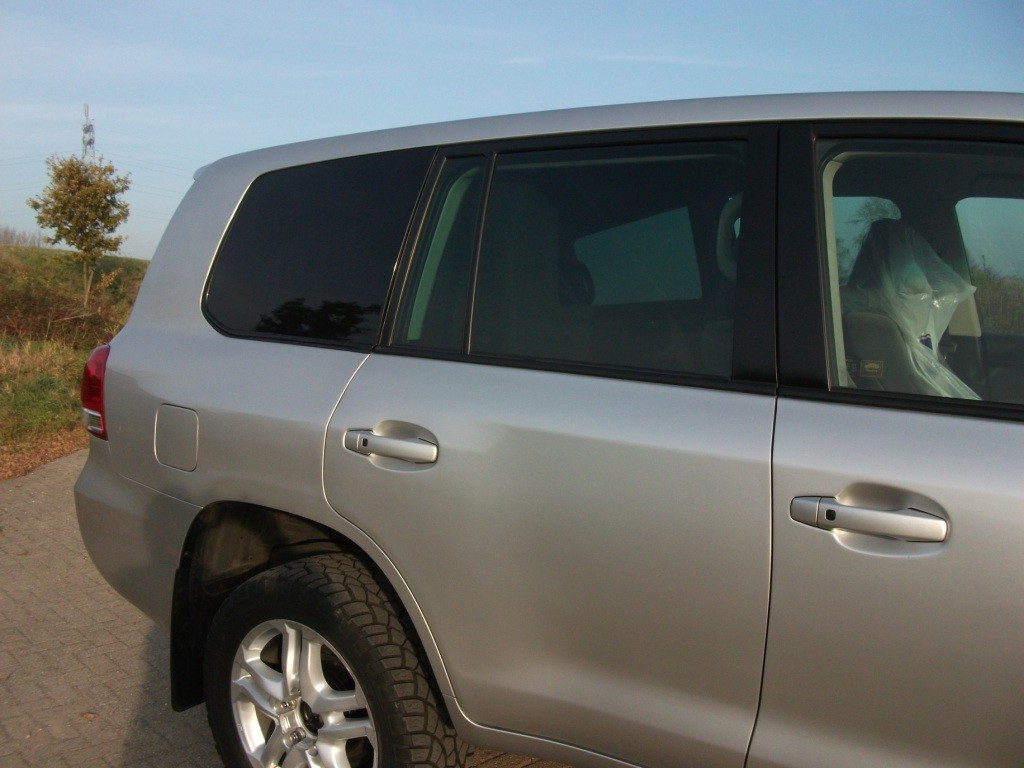 Toyota Landruiser 200 grijs kenteken