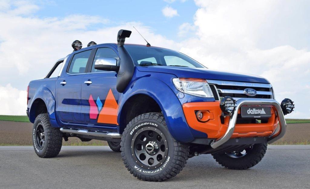 Ford Ranger spatbordverbreding