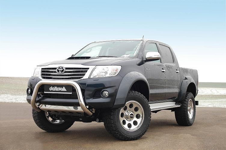 Toyota Hilux verhoging en verbreding