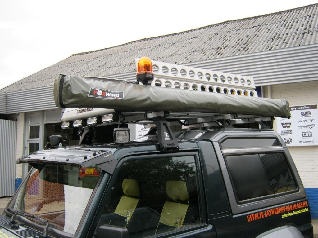 Montage roofrack accessoires