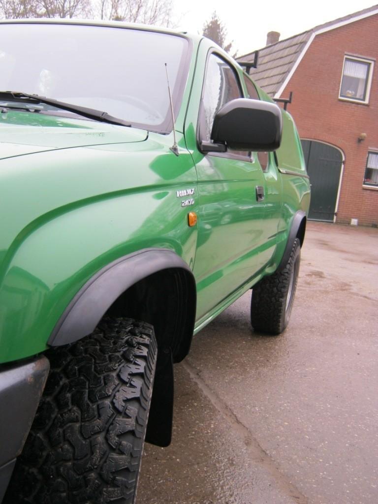 Toyota Hilux spatbordverbreding