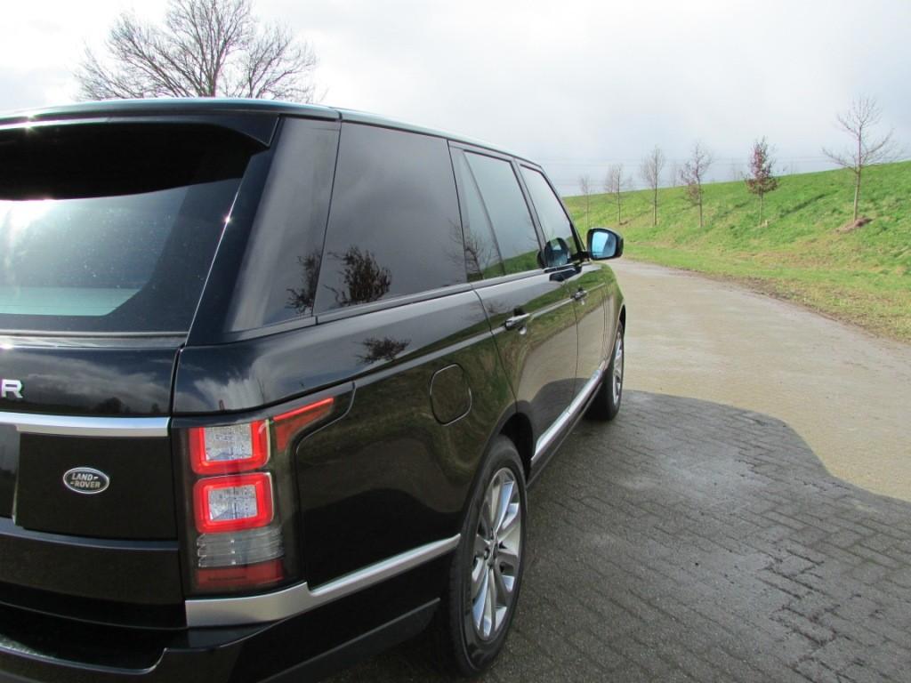 Range Rover grijs kenteken
