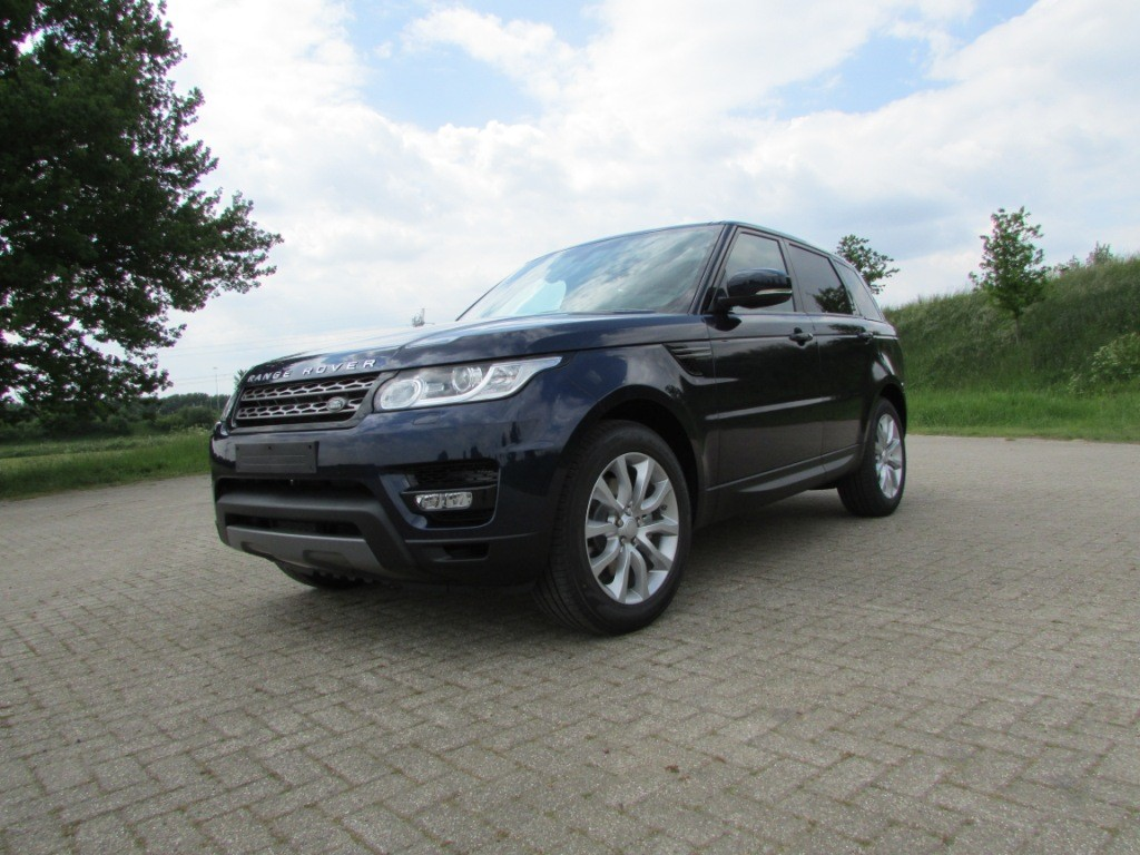Range Rover Sport grijs kenteken