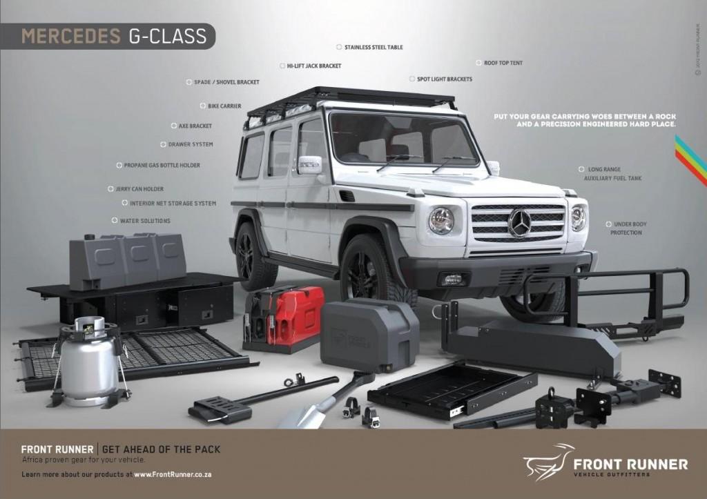 Mercedes G accessoires