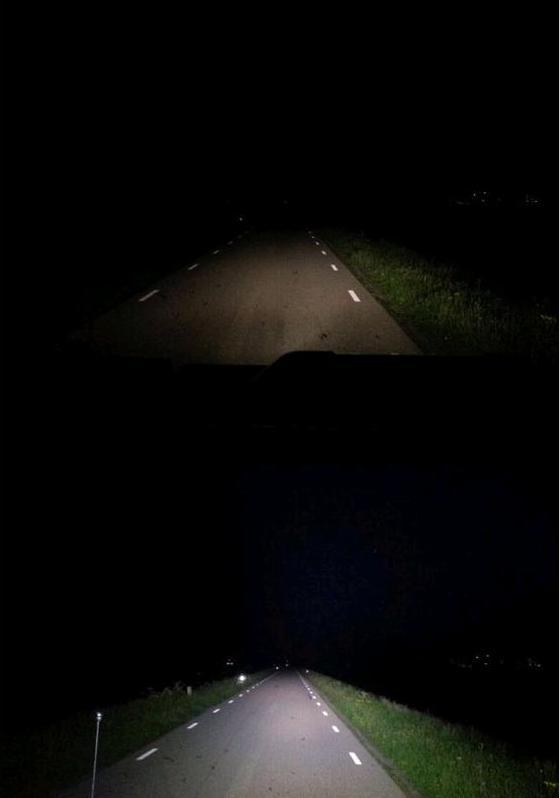 Met en zonder LED verlichting