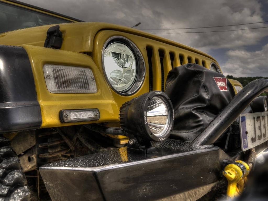 LED koplamp Jeep Wrangler