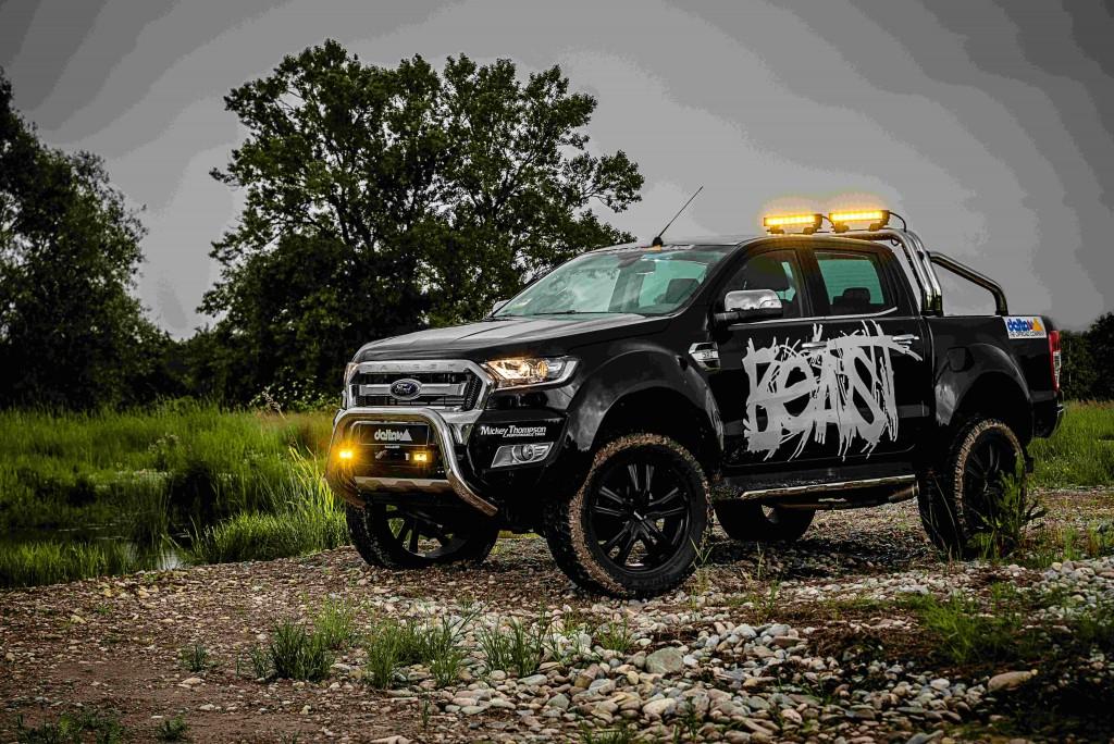 Ford Ranger Beast. Monster pickup Ford