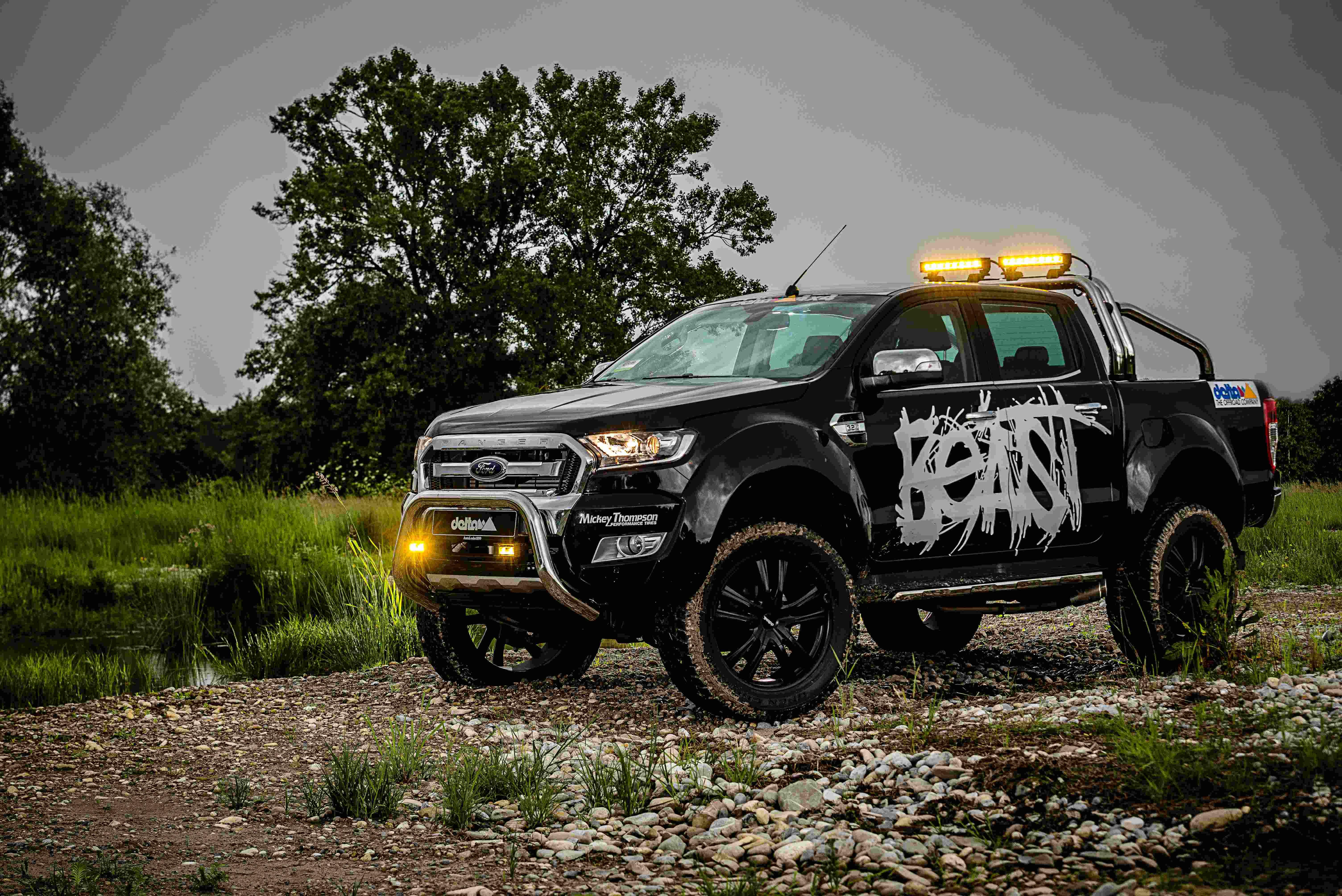 Ford Ranger The Beast Uitvoering Saris4x4