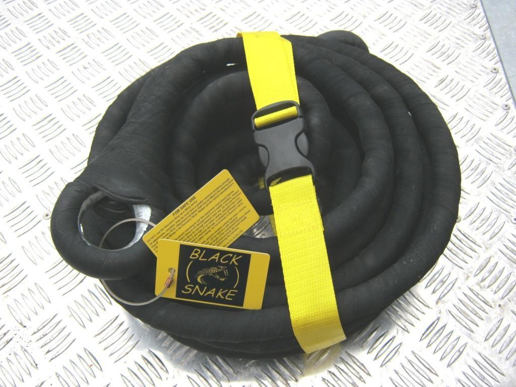 Black Snake kinetisch sleeptouw
