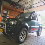 Suzuki Jimny 50 mm 2 inch verhogingset lift kit bodylift verhogen suspension kit
