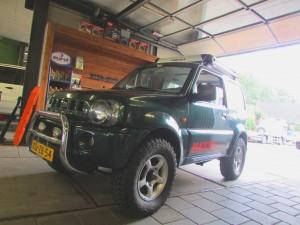 Suzuki Jimny 50 mm 2 inch verhogingset lift kit bodylift verhogen suspension kit