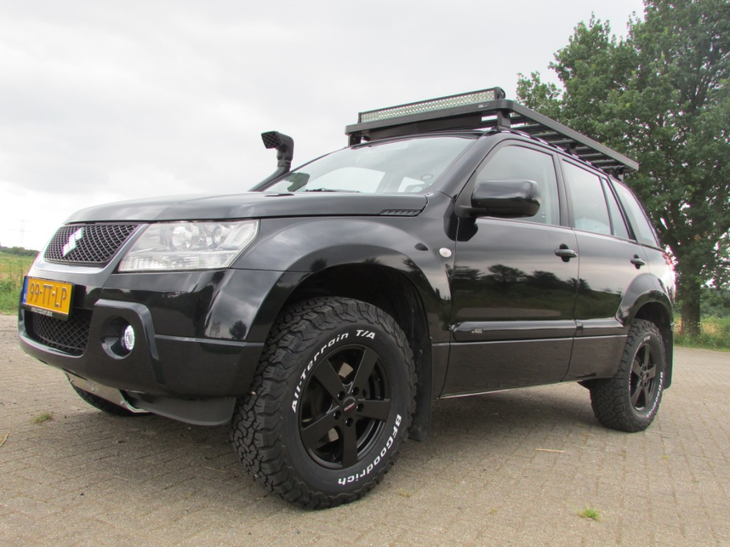Bf Goodrich All Terrain >> Suzuki Grand Vitara Offroad Edition - Saris4x4