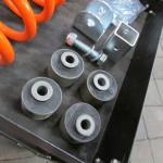 Caster correctie rubbers