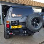 rear bumper HDJ80