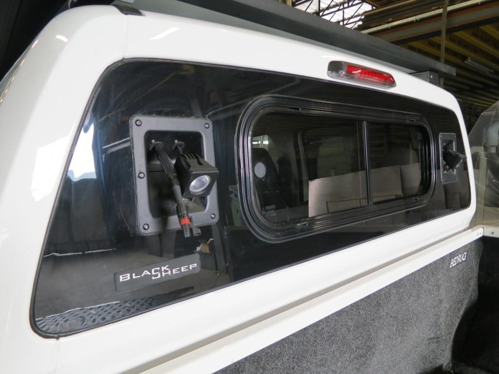 Werklicht achter Volkswagen Amarok werklampen