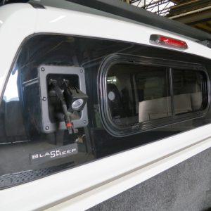 Werklamp achter Volkswagen Amarok werklampen
