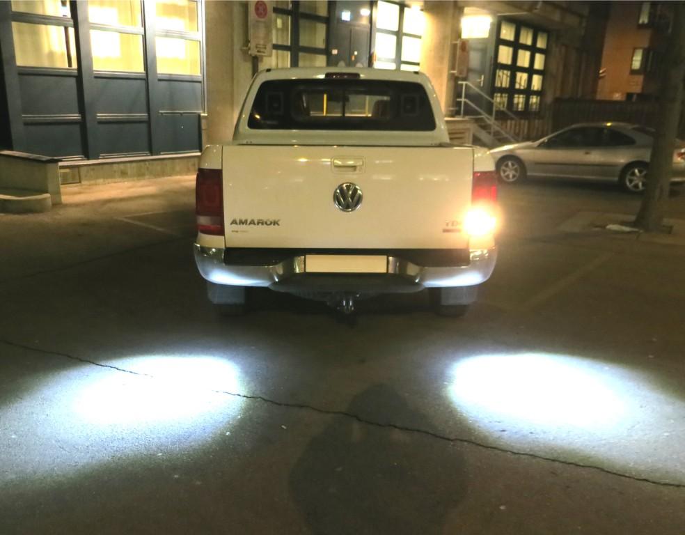 Werklamp VW Amarok extra verlichting achteruitrijden
