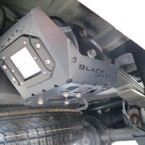 werklamp achter VW Amarok