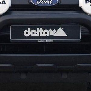 Pushbar Ford Ranger zwart