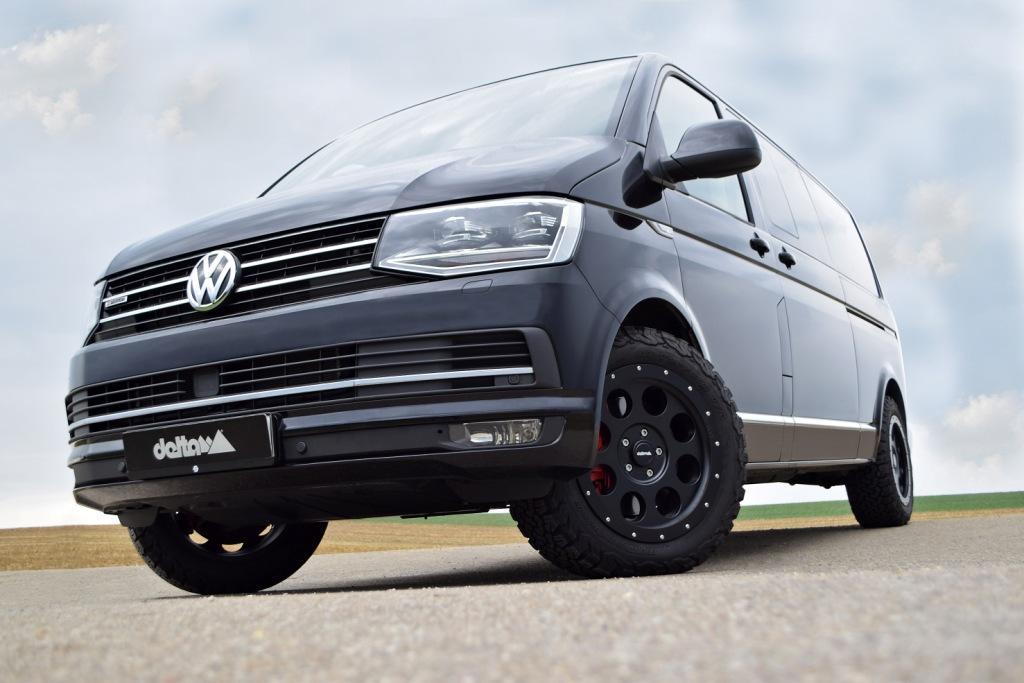 All Terrain Banden Op Volkswagen Transporter T6 Saris4x4