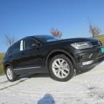 De nieuwe Volkswagen Tiguan grijs kenteken ombouw
