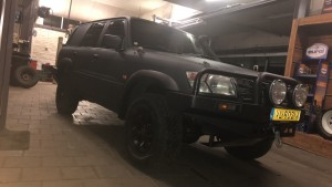 Nissan Patrol GR Y61 3.0 Dakar edition met anti kras coating