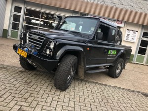 Iveco Massif met Superwinch EXP lier en TJM snorkel