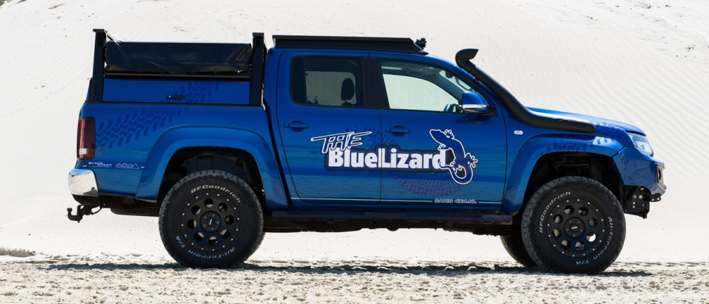 VW Amarok The Blue Lizard