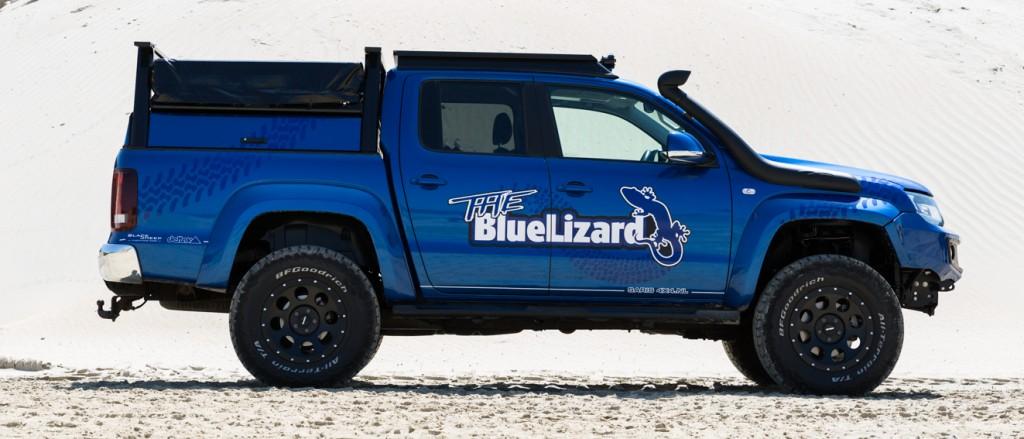 VW Amarok The Blue Lizard