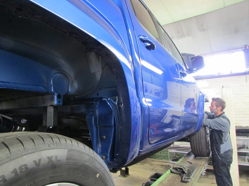 VW Amarok bodylift lift kit