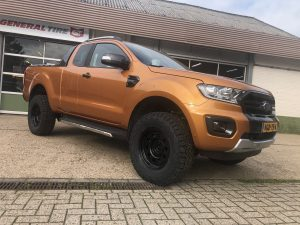 Ford ranger verhoging OME lift kit AT banden 285 BF Goodrich