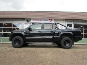 Amarok lift bodylift suspension offroad wheels all terrain winch